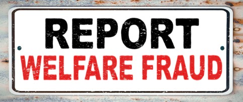 "Graphic that reads ""Report Fraud"""